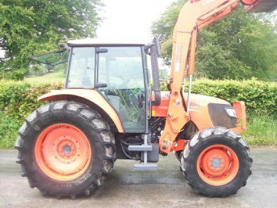 KUBOTA M108S with LA1403 Power Loader